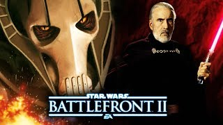 Star Wars Battlefront 2 - New General Grievous and Count Dooku Leaks Reveal Abilities and More!
