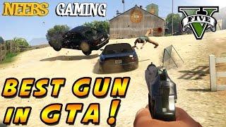 GTA 5 - Best Gun in GTA - Vehicle Cannon Mod