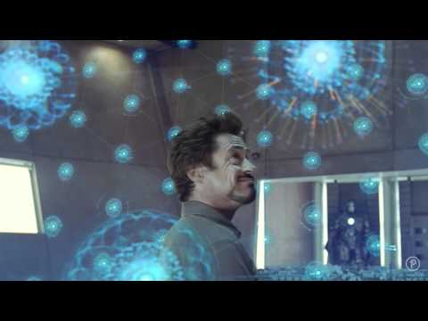 Iron Man 2 Amazing interfaces and holograms - The Ultimate Review (Part 2 of 3)