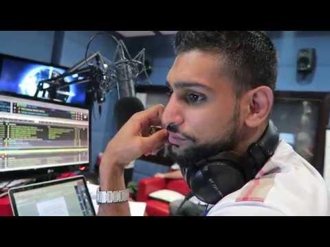AMIR KHAN PRESS DAY IN DUBAI