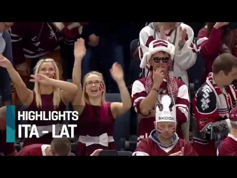 чм по хоккею 2017 Италия Латвия