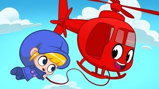 Rescue Helicopter - My Magic Pet Morphle   Cartoons For Kids   Cartoons and Kids Songs   Moonbug TV