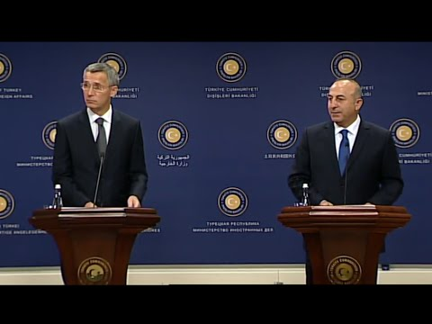 NATO Secretary General - Joint Press Point with the Minister of Foreign Affairs of Turkey (part 2/2)