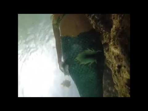 Real mermaids swim in Mexico. Mermaid Shannon Feat Venessa the Louisiana Mermaid