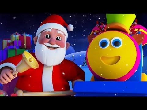 Bob the train jingle bells merry Christmas Xmas carols for kids Bob the train S01EP14