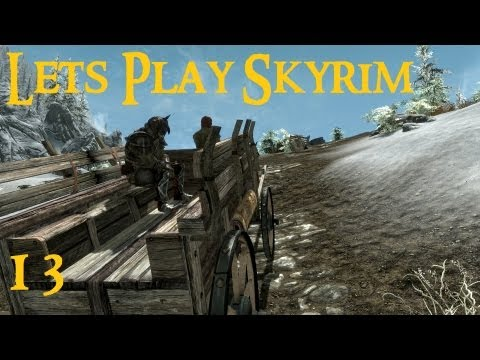 Lets Play Skyrim (modded) - pt 13 - Orc Warlock (Master Difficulty)