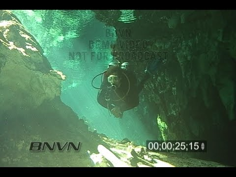 1/26/2007 Tulum, Mexico Gran Cenote Video - Part 4