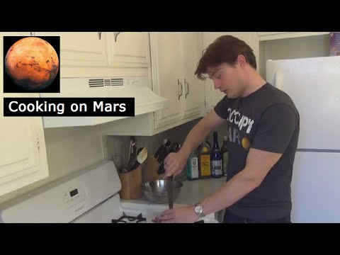 Cooking on Mars