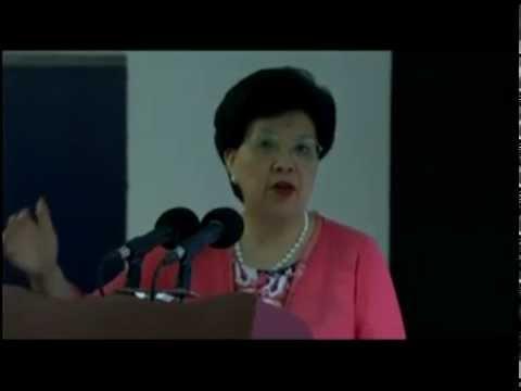 Cuba: intervención de la Directora de la OMS en inauguración de la nueva sede del CECMED y CENCEC