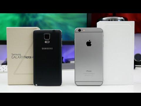 Apple iPhone 6 Plus vs Samsung Galaxy Note 4 - Ultimate Comparison!