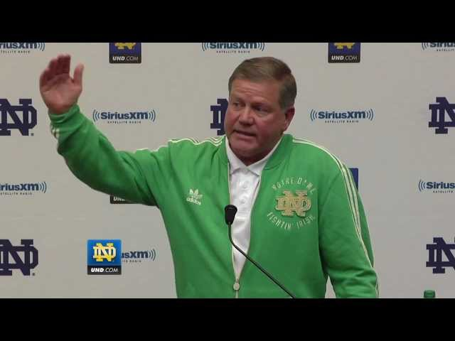 Brian Kelly Press Conference - BCS Announcement