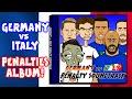 Germany vs Italy -PENALTY SHOOT-OUT! (Zaza run-up fail, Muller miss, Ozil post, Darmian miss)