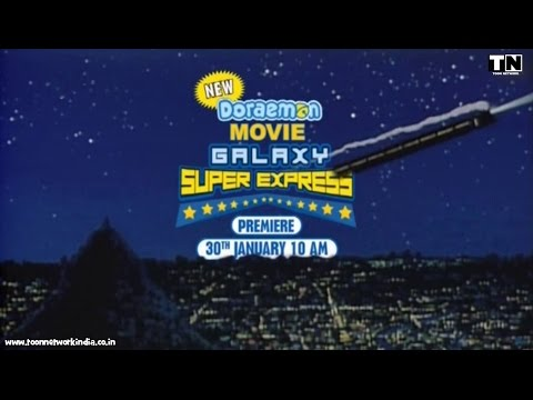 Doraemon Movie Galaxy Super Express HINDI promo thumbnail