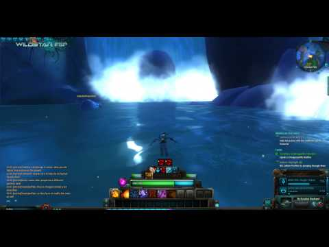 Wildstar - Swimming in Celestial River (beta client)