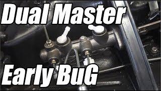 Classic VW BuGs Dual Master Cylinder Early Bug Brake Hose Fix