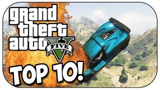 Top 10 ACCIDENTAL STUNTS In GTA 5!