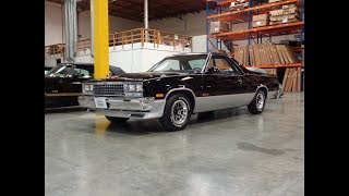 1986 Chevrolet Chevy El Camino SS in Black & Silver & Engine Sound - My Car Story with Lou Costabile