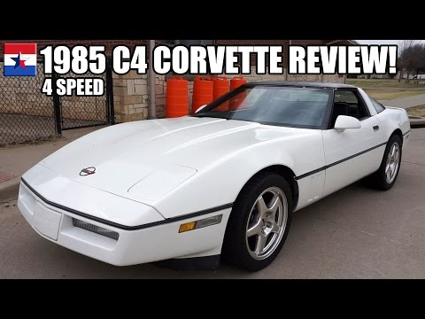 1985 C4 Corvette // REVIEW