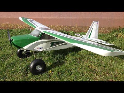 Bill's Third Flight & Landing Gear Test   HobbyKing Durafly Tundra 1300mm STOL RC Bush Plane