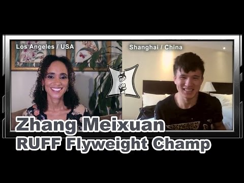Chinese Flyweight Champ Zhang Meixuan on RUFF 11 Rematch with Amu Rijirigala