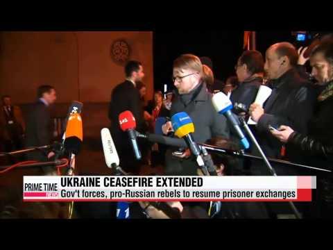 Four-way talks extend ceaesefire in eastern Ukraine   우크라이나 베를린 4자회담
