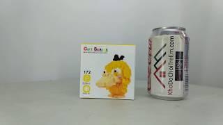 Mở hộp Lno 172 Pokémon MOC Pokemon Psyduck giá sốc rẻ nhất