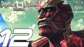Attack on Titan 2 - Gameplay Walkthrough Part 12 - Reiner & Bertholdt Betrayal (PS4 PRO)