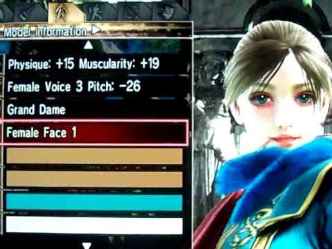 My Soul Calibur IV Character Creations - Jessica