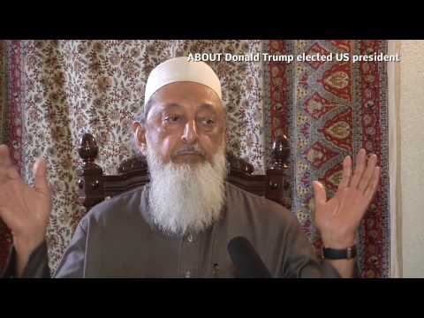 Sheikh Imran Hosein ABOUT Donald Trump elected US president