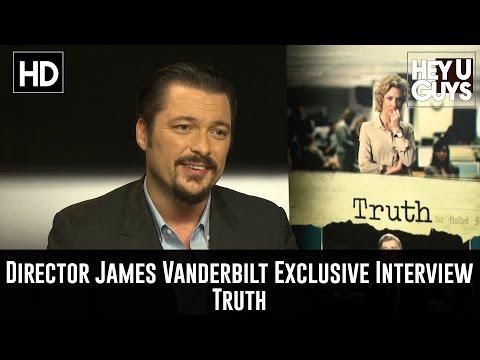 Director James Vanderbilt Exclusive Interview - Truth