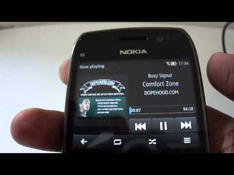 Symbian Belle on the Nokia E6 - First impressions
