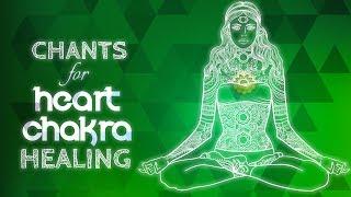 Soothing HEART CHAKRA CHANTS - Seed Mantra YAM Chanting Meditation {anahata} Chakra Heaing Music