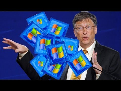Bill Gates rubber contest to harden safe sex awareness