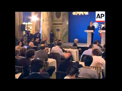Sarkozy and Barroso on outcome of summit