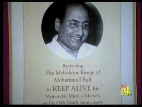 Biography-A Tribute To Mohammed Rafi On 30th Death Anniversary...