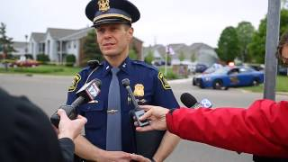 Michigan State Police give update on Portage Shooting investigation