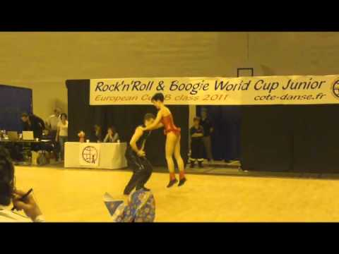 Filip Bilusic & Larisa Gomaz - Europe Cup Lyon 2011