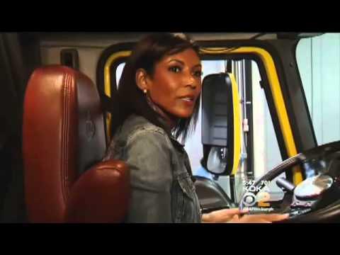 News anchor gets behind the wheel of an 18 wheeler kdka tv youtube