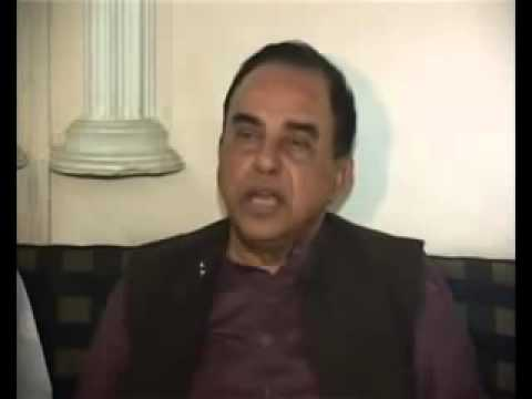 Dr Subramanian Swamy's open challenge to Pakistan on Kashmir issue !