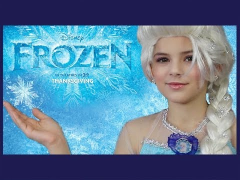 Disney's FROZEN Elsa Makeup Tutorial | KITTIESMAMA