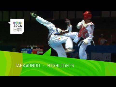 Men's And Women's Taekwondo - Highlights | Nanjing 2014 Youth Olympic Games video