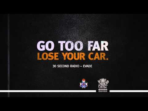 Queensland Police 30 Second Evade Radio Ad by Redsuit