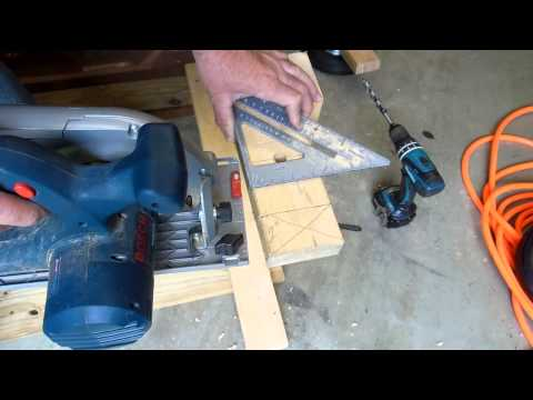 Build a Portable Miter Saw Work Table