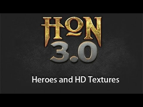 HoN 3.0 Dev Blog - Heroes and HD Textures