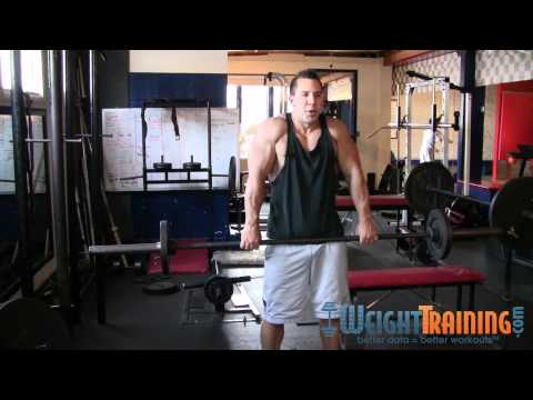 Shrug - How to do Barbell Shrugs Image 1