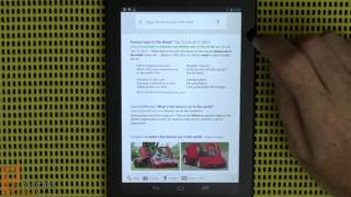 Google Nexus 7 Android tablet by ASUS review - part 2 of 2
