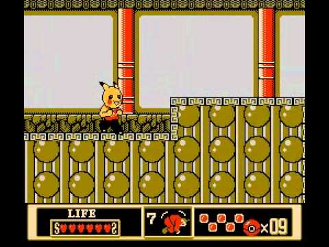 Weird Pirated Games: Brave Boy: Kung Fu Pikachu (NES)