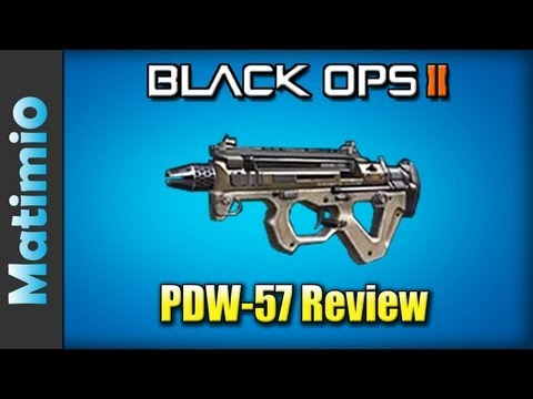 PDW-57 Review - Best  Submachine Gun? (Black Ops 2 Gameplay/Commentary)