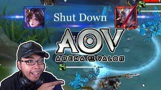 Diaochan VS Diaochan! - Arena Of Valor Mabar Subscribers! (Kok Ada Wonder Woman?!)