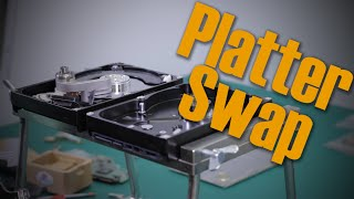 hard drive does not spin - how to Platter Swap